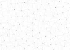 Δομή σύνδεσης Μόριο του DNA και των νευρώνων αφηρημένη ανασκόπηση Ιατρική, τεχνολογία επιστήμης διάνυσμα Στοκ Εικόνες