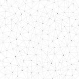 Δομή σύνδεσης Μόριο του DNA και των νευρώνων Στοκ Φωτογραφία