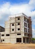 Δομή της χρήσης οικοδόμησης κτηρίου για τη Οικοδομική Βιομηχανία και τη διοικητική επιχείρηση εδάφους, θέμα ακίνητων περιουσιών Στοκ φωτογραφίες με δικαίωμα ελεύθερης χρήσης