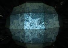 Δομή του πάγου Στοκ εικόνες με δικαίωμα ελεύθερης χρήσης
