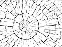 Δομή των ρωγμών του ξύλινου διανυσματικού υποβάθρου Στοκ εικόνες με δικαίωμα ελεύθερης χρήσης