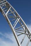 δομή χάλυβα Στοκ Φωτογραφίες