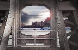 Δομή χάλυβα Στοκ εικόνες με δικαίωμα ελεύθερης χρήσης