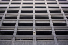 Δομή χώρων στάθμευσης Στοκ Εικόνες