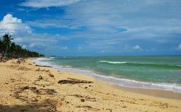 Δομινικανή Δημοκρατία παραλιών του Μακάου στοκ φωτογραφία με δικαίωμα ελεύθερης χρήσης