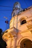 Δομινικανή Δημοκρατία του Domingo Santo Museum de Λα Villa, συστατικό παλάτι το βράδυ Στοκ εικόνες με δικαίωμα ελεύθερης χρήσης