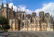 Δομινικανό μοναστήρι Batalha, Πορτογαλία στοκ εικόνα με δικαίωμα ελεύθερης χρήσης