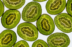 Δονούμενα φρούτα ακτινίδιων Στοκ Εικόνα