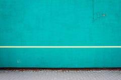 Δονούμενος κυανός τοίχος ασβεστοκονιάματος στοκ φωτογραφία με δικαίωμα ελεύθερης χρήσης