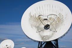 Δορυφορικές επικοινωνίες, Burum, Ολλανδία Στοκ εικόνες με δικαίωμα ελεύθερης χρήσης