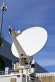 Δορυφορική κεραία πιάτων Στοκ εικόνες με δικαίωμα ελεύθερης χρήσης