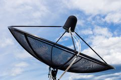 Δορυφορική μετάδοση Στοκ Φωτογραφία