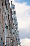 Δορυφορική τηλεόραση Στοκ Εικόνα