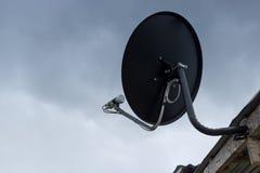 Δορυφορικός δορυφόρος πιάτων Στοκ φωτογραφία με δικαίωμα ελεύθερης χρήσης