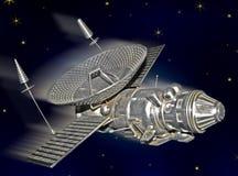 δορυφορικό διάστημα Στοκ Εικόνα