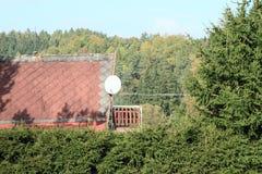 Δορυφορικό antena Στοκ εικόνα με δικαίωμα ελεύθερης χρήσης
