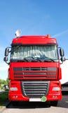 δορυφορικό truck πιάτων Στοκ φωτογραφία με δικαίωμα ελεύθερης χρήσης