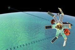δορυφόρος δικτύων Στοκ Εικόνες