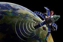 δορυφόρος επικοινωνία&sigmaf Στοκ εικόνες με δικαίωμα ελεύθερης χρήσης