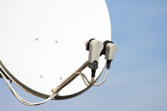 δορυφόρος πιάτων Στοκ Εικόνα