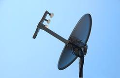 δορυφόρος πιάτων Στοκ εικόνες με δικαίωμα ελεύθερης χρήσης