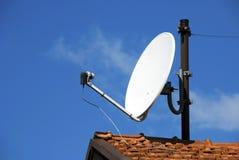 δορυφόρος πιάτων Στοκ Φωτογραφία