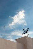 δορυφόρος ράβδων φωτισμ&omicr Στοκ φωτογραφία με δικαίωμα ελεύθερης χρήσης