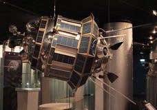 Δορυφόρος στο διαστημικό μουσείο Στοκ εικόνα με δικαίωμα ελεύθερης χρήσης