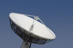 δορυφόρος 2 πιάτων Στοκ Φωτογραφίες