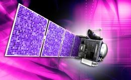Δορυφόρος ελεύθερη απεικόνιση δικαιώματος