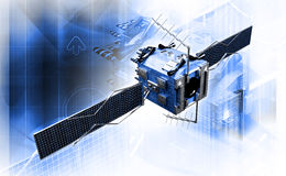 Δορυφόρος διανυσματική απεικόνιση