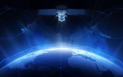Δορυφόρος Στοκ Εικόνες