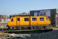 Δουβλίνο Connolly, Ιρλανδία, τον Απρίλιο του 2010, μια υπηρεσία σιδηροδρόμων Iarnrod Eireann στοκ φωτογραφία με δικαίωμα ελεύθερης χρήσης