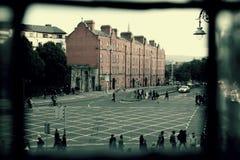 Δουβλίνο στην πλατεία Cornmarket Στοκ Εικόνες