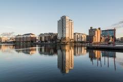 Δουβλίνο Docklands Στοκ φωτογραφίες με δικαίωμα ελεύθερης χρήσης