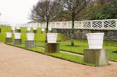 Δοχεία κήπων Στοκ εικόνα με δικαίωμα ελεύθερης χρήσης