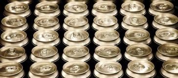δοχεία μπύρας Στοκ Εικόνα