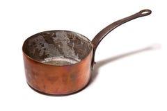 Δοχείο ή κατσαρόλλα χαλκού Στοκ Εικόνα