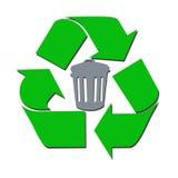 δοχείο ανακύκλωσης Στοκ Φωτογραφίες