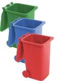 δοχείο ανακύκλωσης Στοκ εικόνες με δικαίωμα ελεύθερης χρήσης