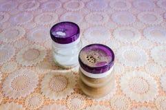 Δοχείο αλατιέρα και πιπεριών Στοκ Εικόνα
