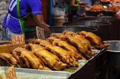 Δοχείο-μαγειρευμένη πάπια Ταϊλάνδη Στοκ φωτογραφία με δικαίωμα ελεύθερης χρήσης