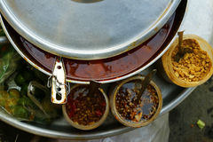 Δοχείο με τη σούπα Στοκ Φωτογραφία