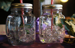 Δοχείο ποτών γυαλιού Στοκ Φωτογραφία