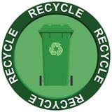 δοχείο που ανακυκλώνε&io απεικόνιση αποθεμάτων