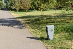 Δοχείο στο πάρκο Στοκ Εικόνες