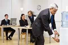 δοχείο ψύξης επιχειρηματ Στοκ εικόνα με δικαίωμα ελεύθερης χρήσης