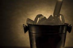 Δοχείο ψύξης με τον πάγο Στοκ Εικόνα