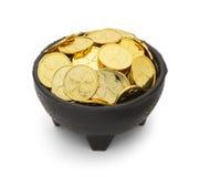 Δοχείο Leprechaun του χρυσού Στοκ Εικόνες