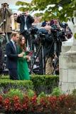 Δούκας και δούκισσα του Καίμπριτζ Στοκ εικόνα με δικαίωμα ελεύθερης χρήσης